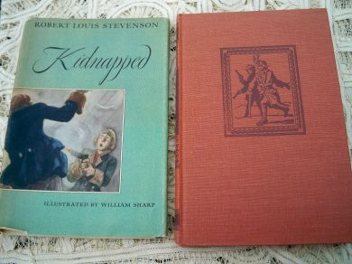 Vintage 1949 Book-Of-The-Month Club Book Kidnapped by Robert Louis Stevenson